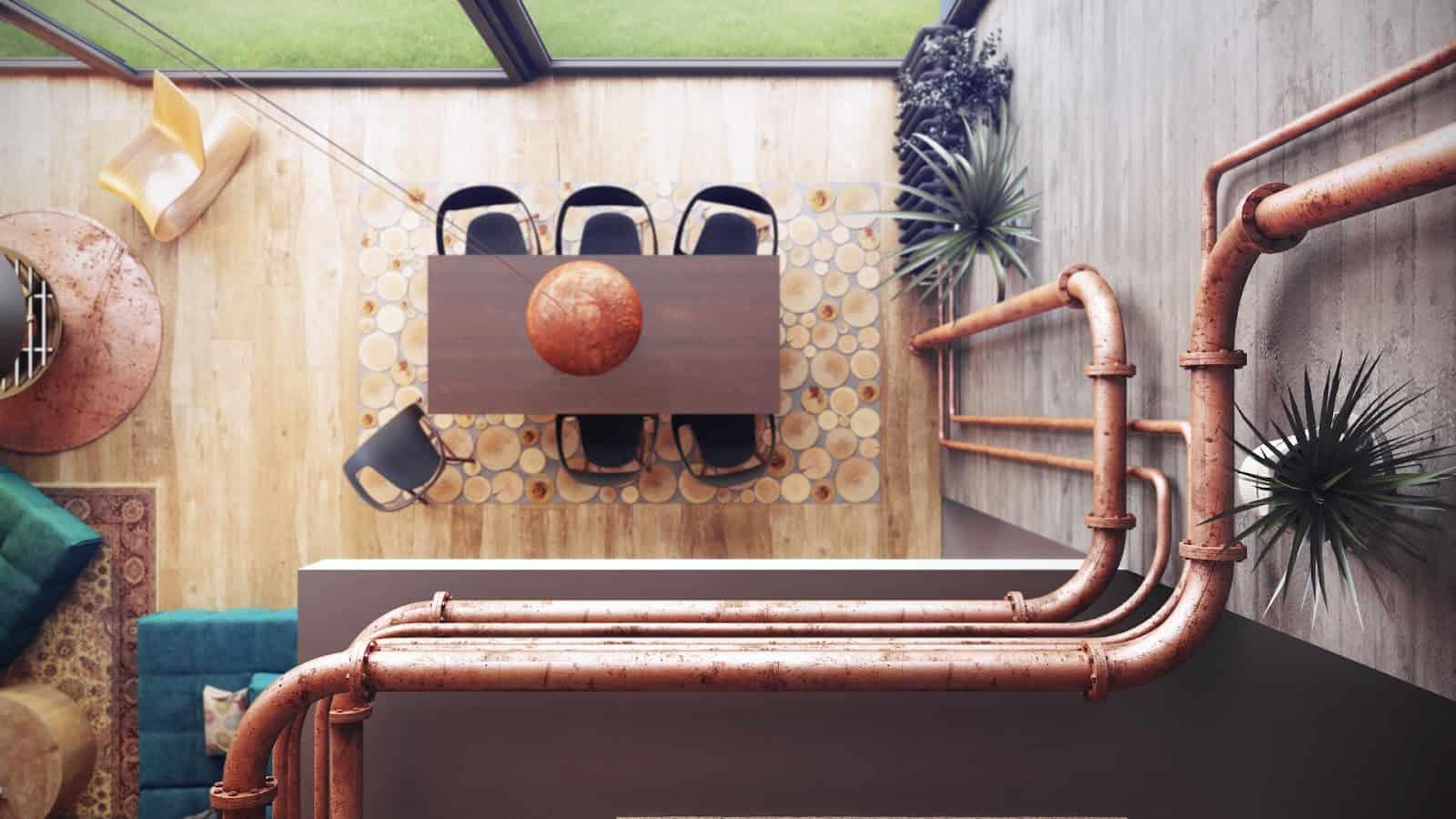 Loft-Like Interior Design by Uglyanitsa Alexander (5)