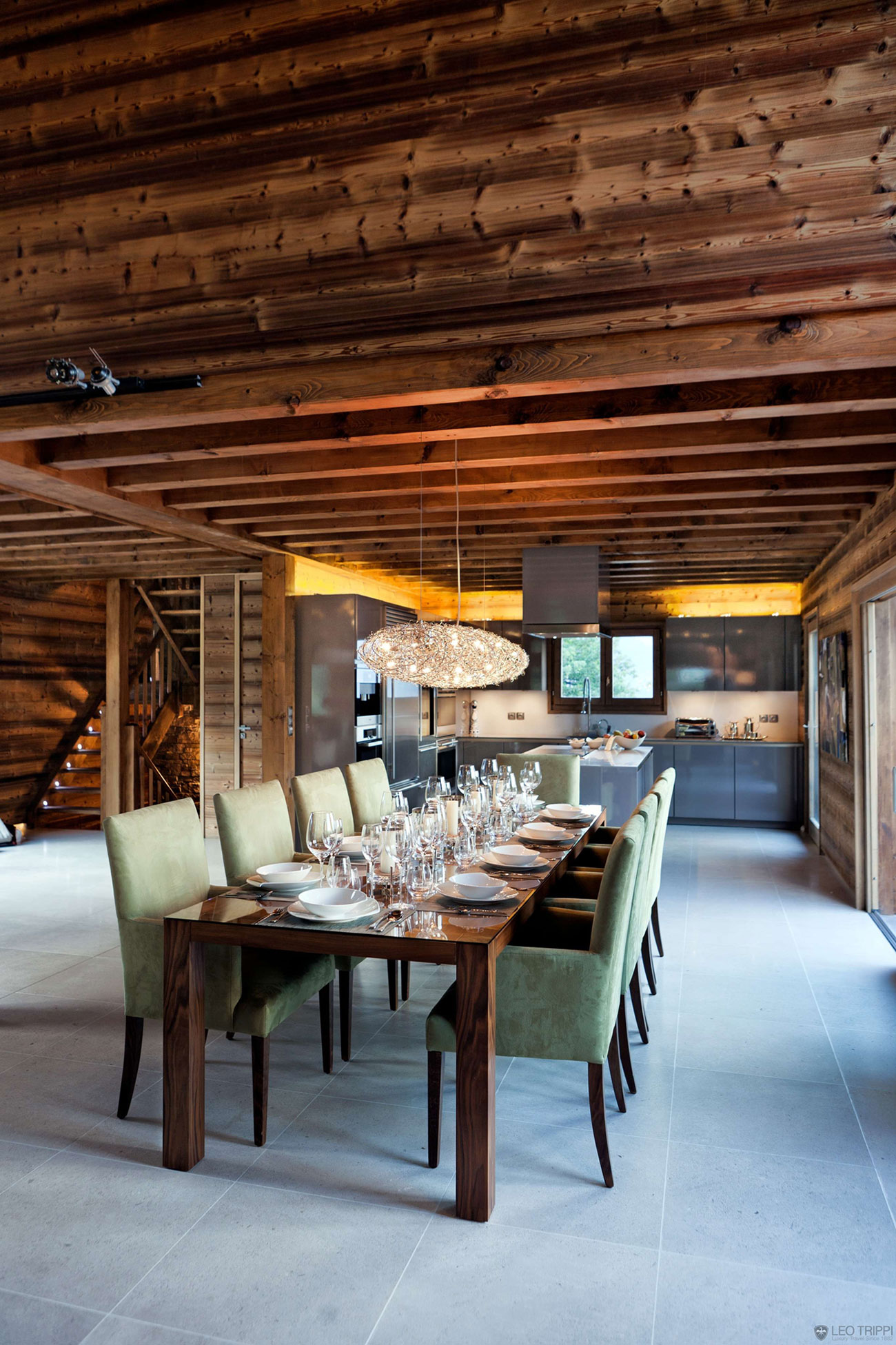 One Oak Chalet in Combloux, the French Alps (11)