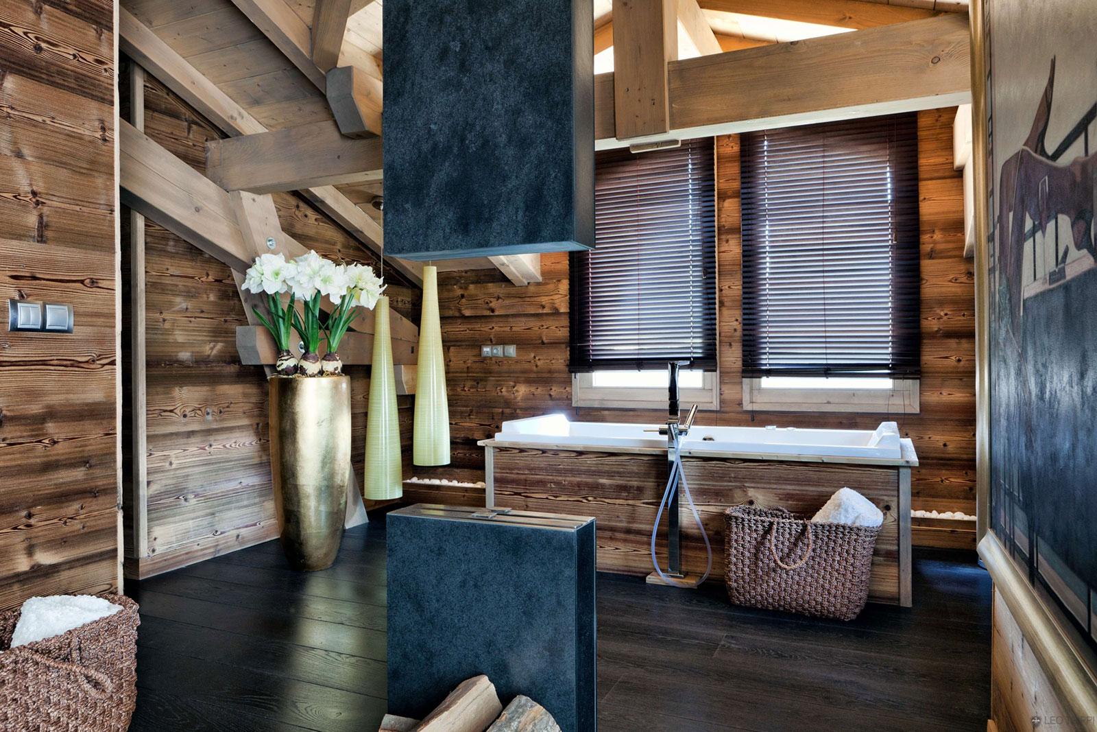 One Oak Chalet in Combloux, the French Alps (16)