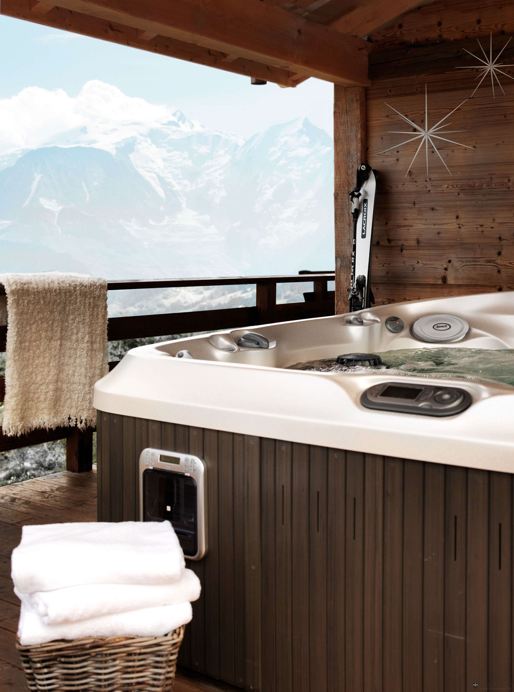 One Oak Chalet in Combloux, the French Alps (17)