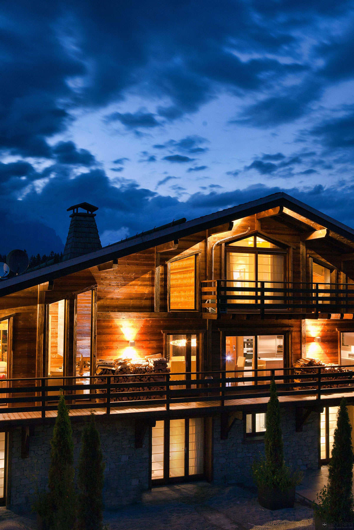 One Oak Chalet in Combloux, the French Alps (20)