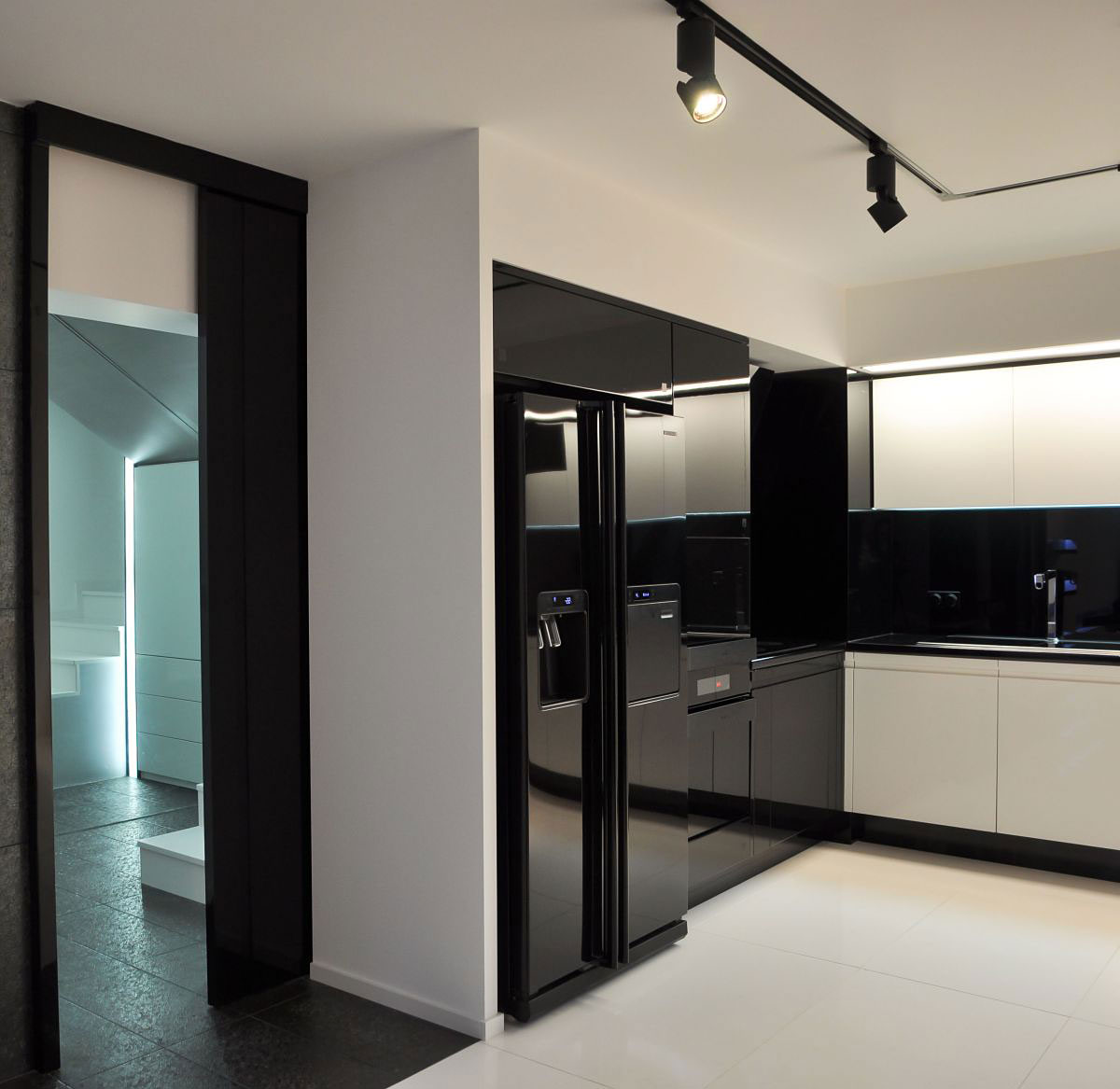 Ultra Modern Apartment Interior by Jovo Bozhinovski (10)