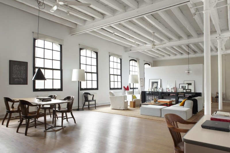 Industrial Style Loft In Manhattan, New York City