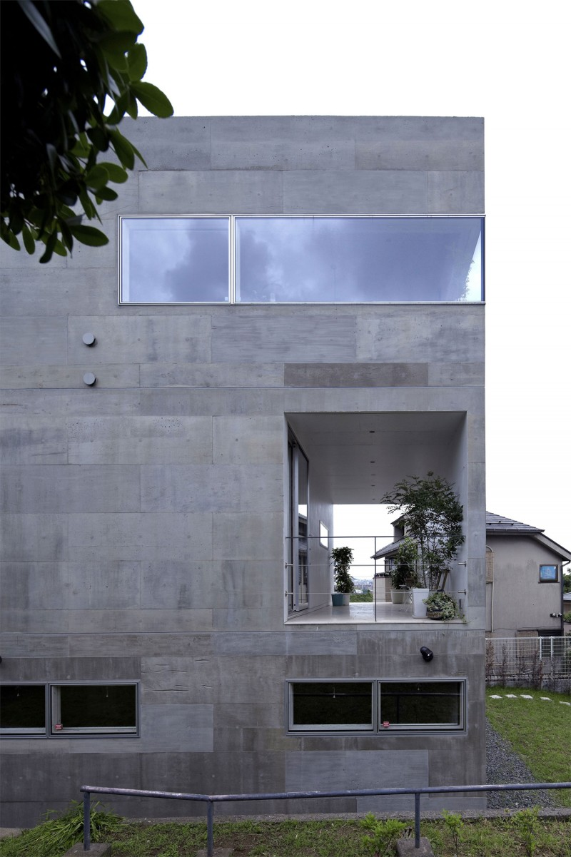 kre house by no555 architectural design office