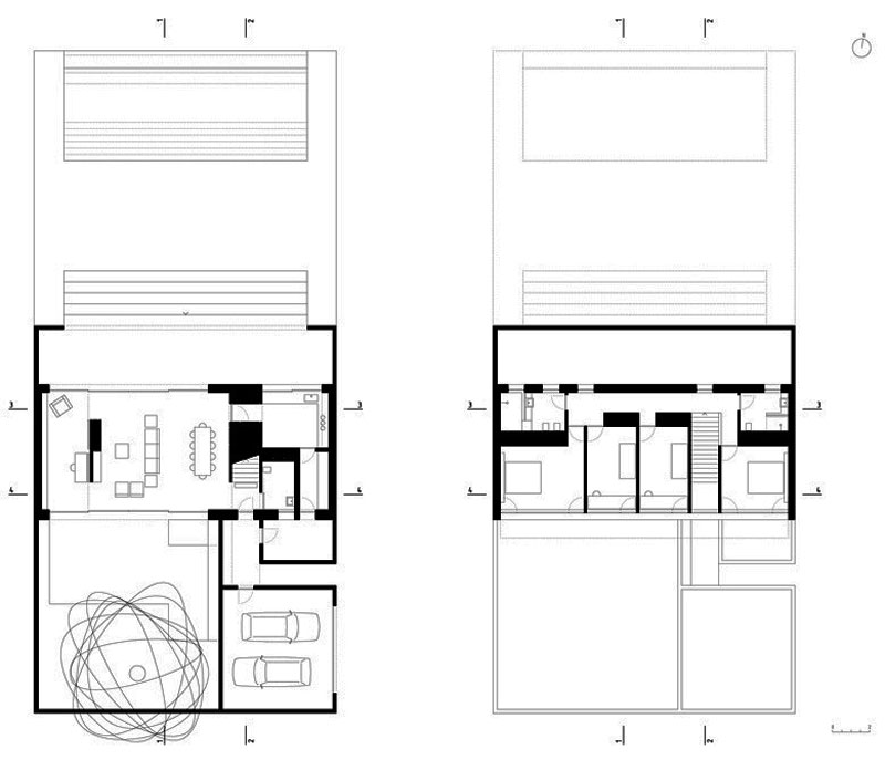 Three Courtyards House by Miguel Marcelino (19)