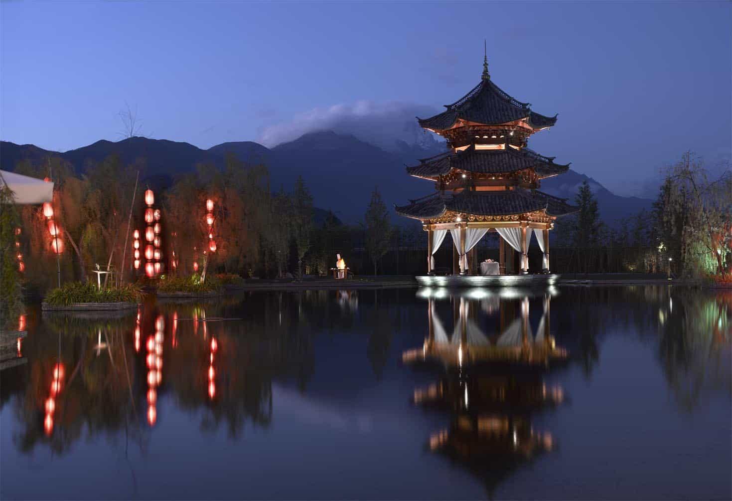 Banyan Tree Lijiang Resort in Lijiang, China