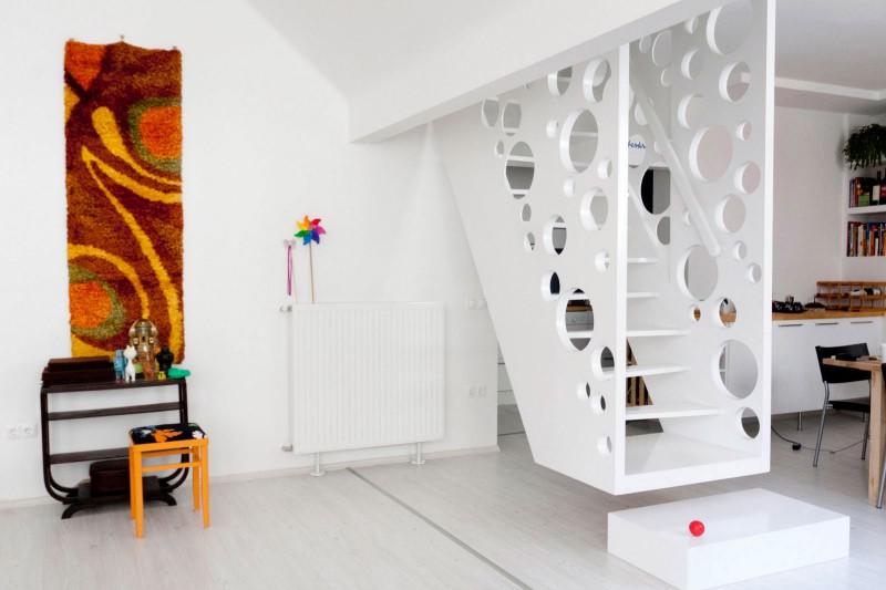 Emmental Stairs Apartment by Biljana Jovanović, and Éva Katona ...