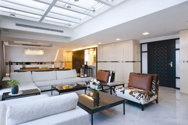 Fashion Forward Open Plan House By Artenid