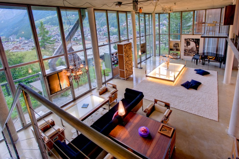 The Heinz Julen Loft in Zermatt, Switzerland