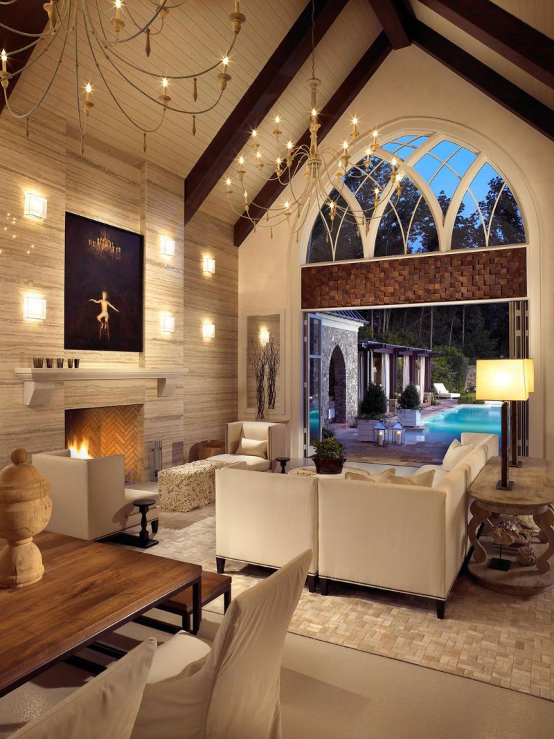 Pool house wine cellar by beckwith interiors arubaitofo Choice Image