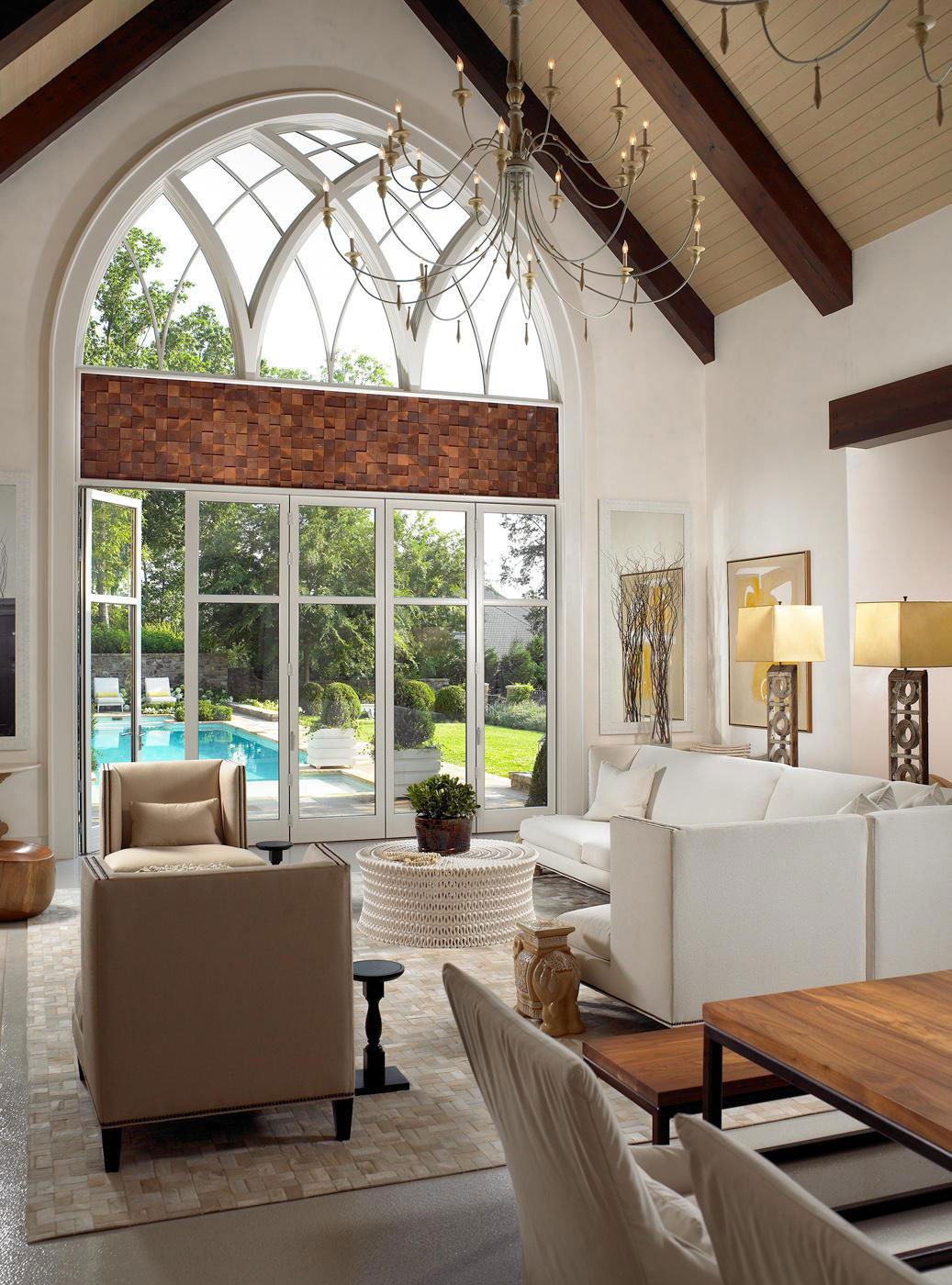 Pool House & Wine Cellar by Beckwith Interiors (2)