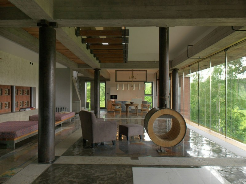 House of poshvykinyh architects near moscow for Home architects near me