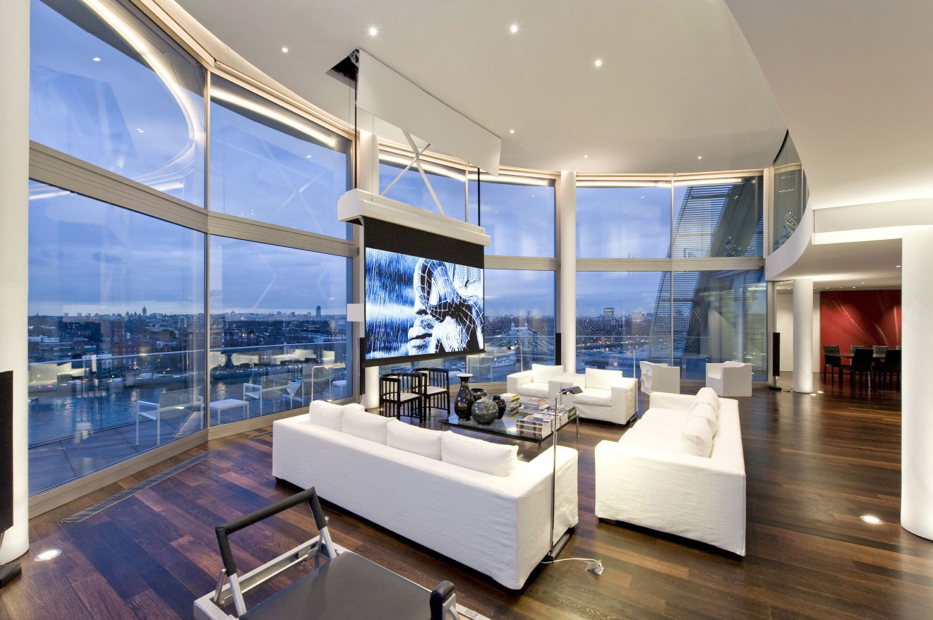 Riverside Penthouse by Richard Meier (5)
