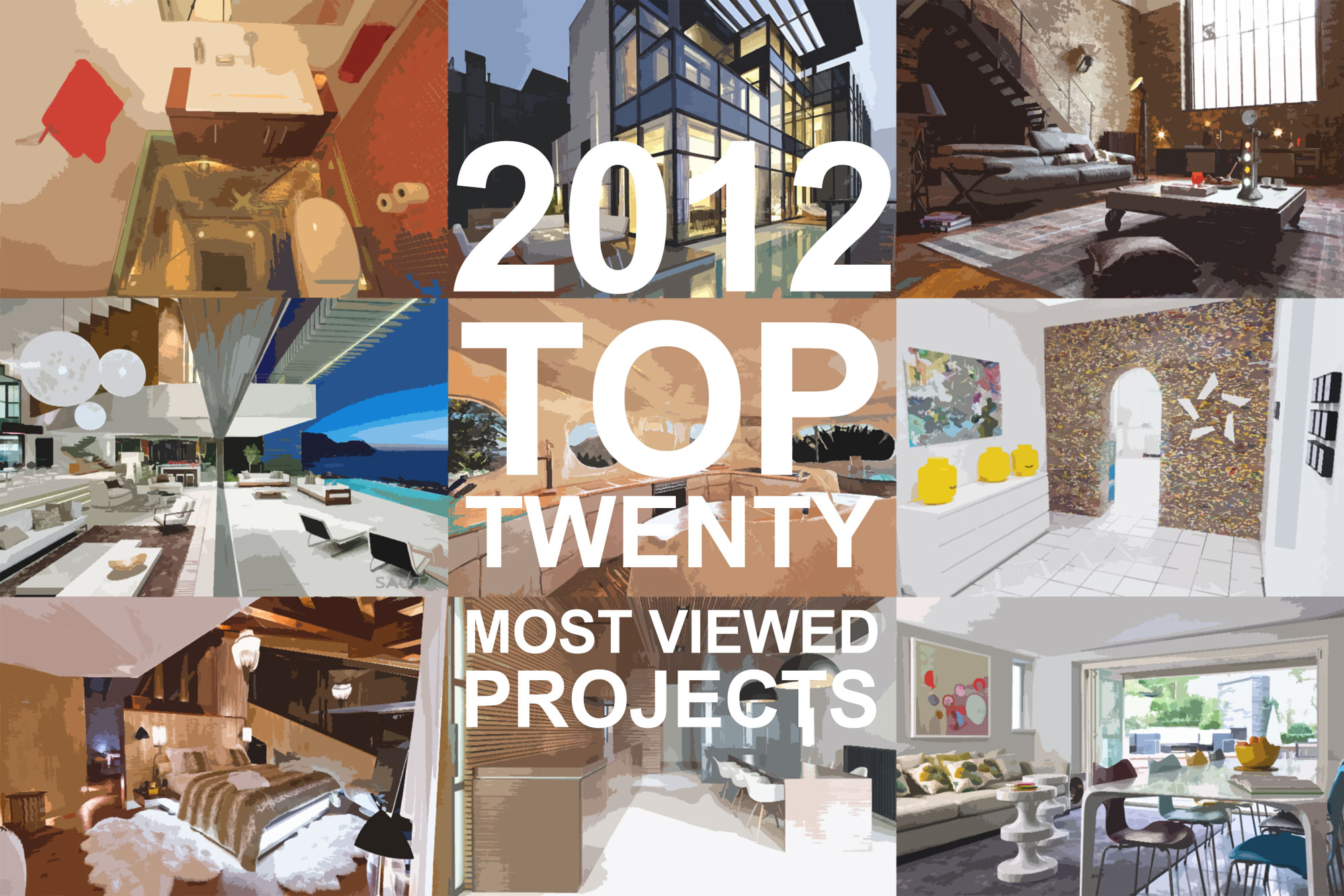 HomeDSGN's 20 Most Popular Projects of 2012