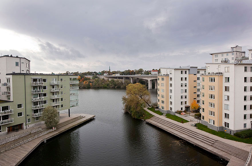 Top Floor with a Garage in Stockholm (2)