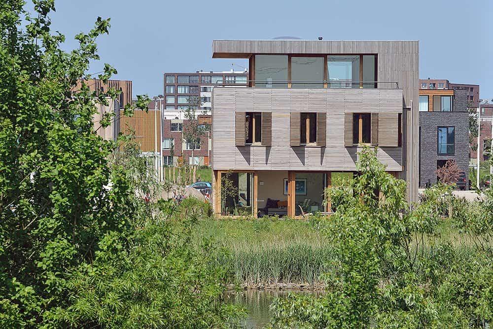 Villa Rieteiland-Oost by Egeon Architecten (1)