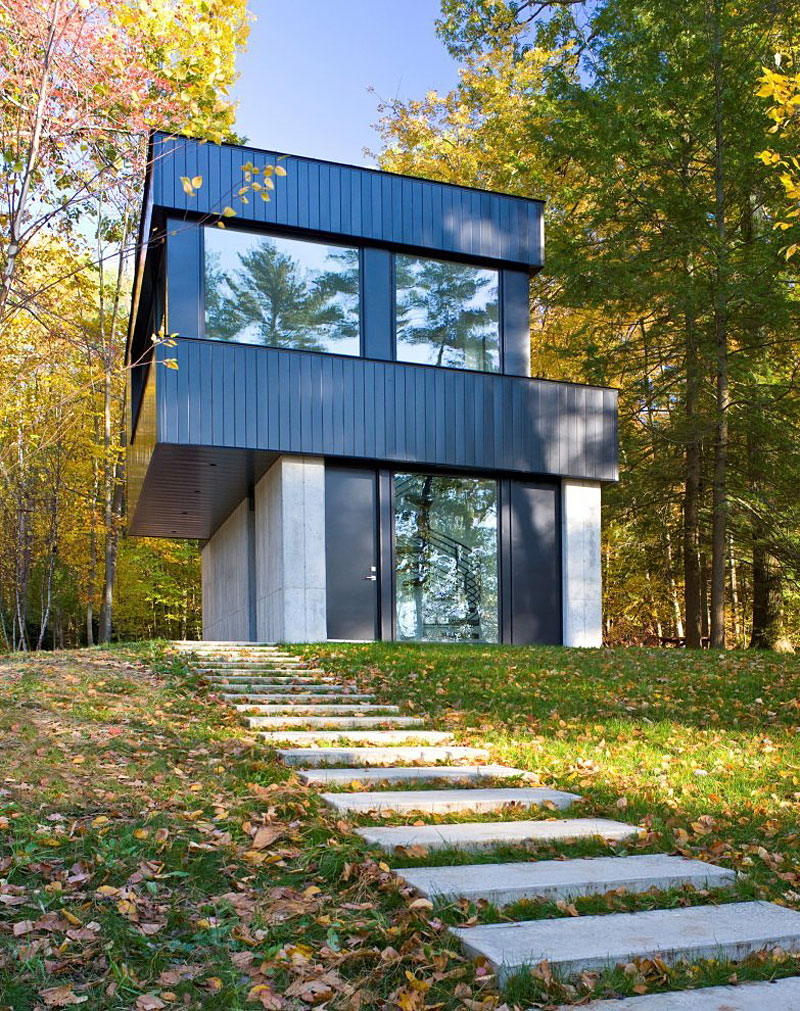 Cantilever Lake House by Brian Mac (5)