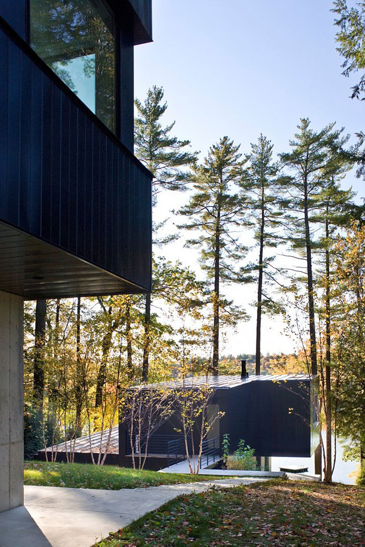 Cantilever Lake House by Brian Mac (6)