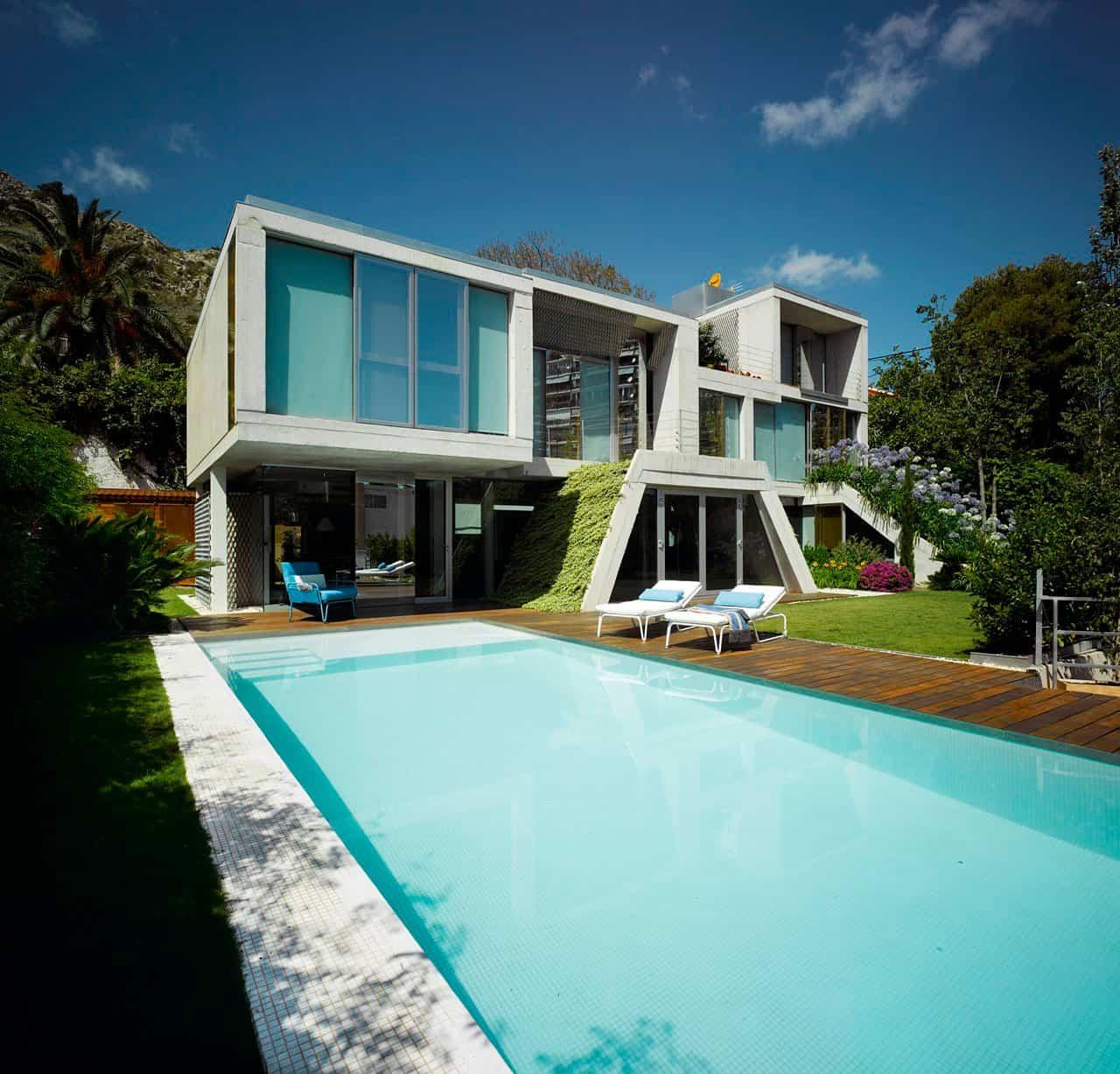 Garden House by Joaquín Alvado Bañón (4)