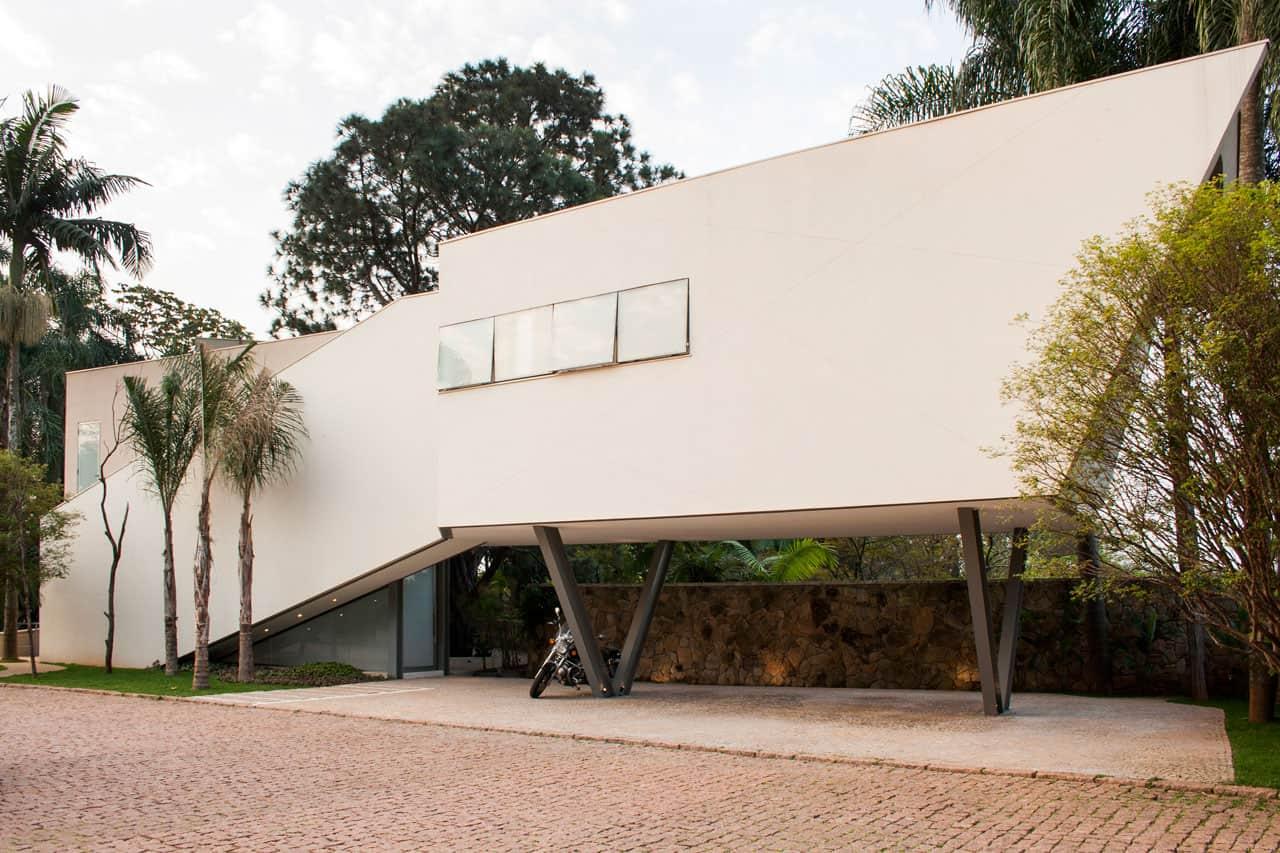 Offset House by Shieh Arquitetos Associados (2)