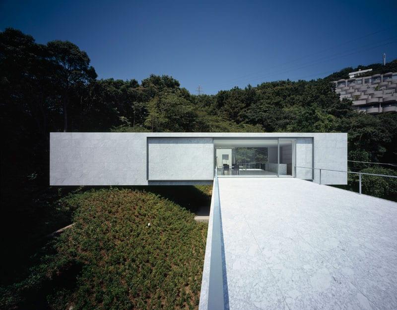 Plus By Mount Fuji Architects Studio on Modern House On Hillside