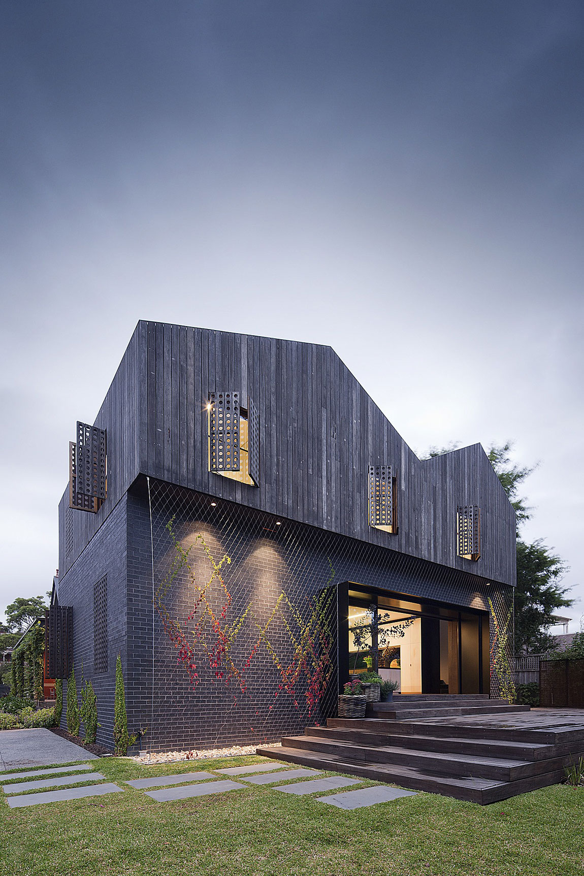 Twin Peaks House by Jackson Clements Burrows (1)