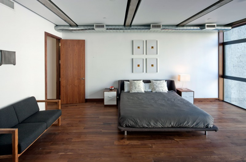 a chic apartment on prince street - Schlafzimmer Set Modern