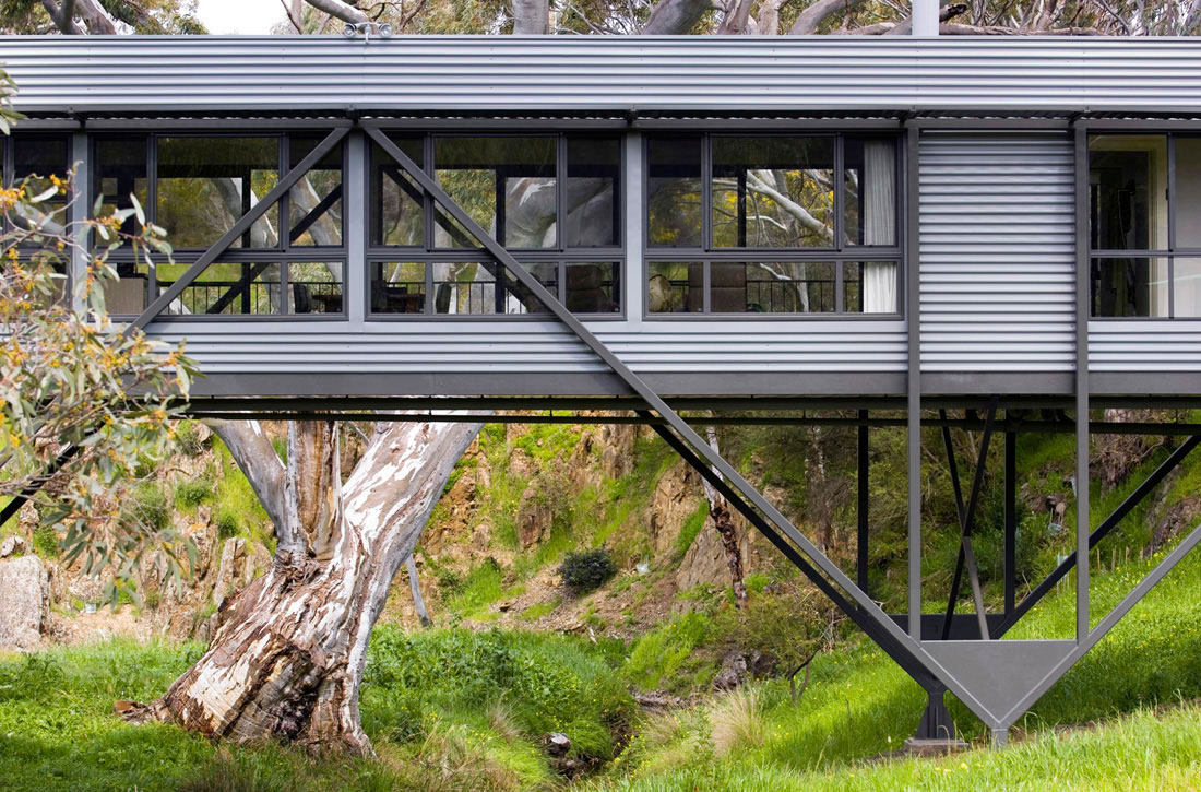 Bridge House by Max Pritchard Architect (5)