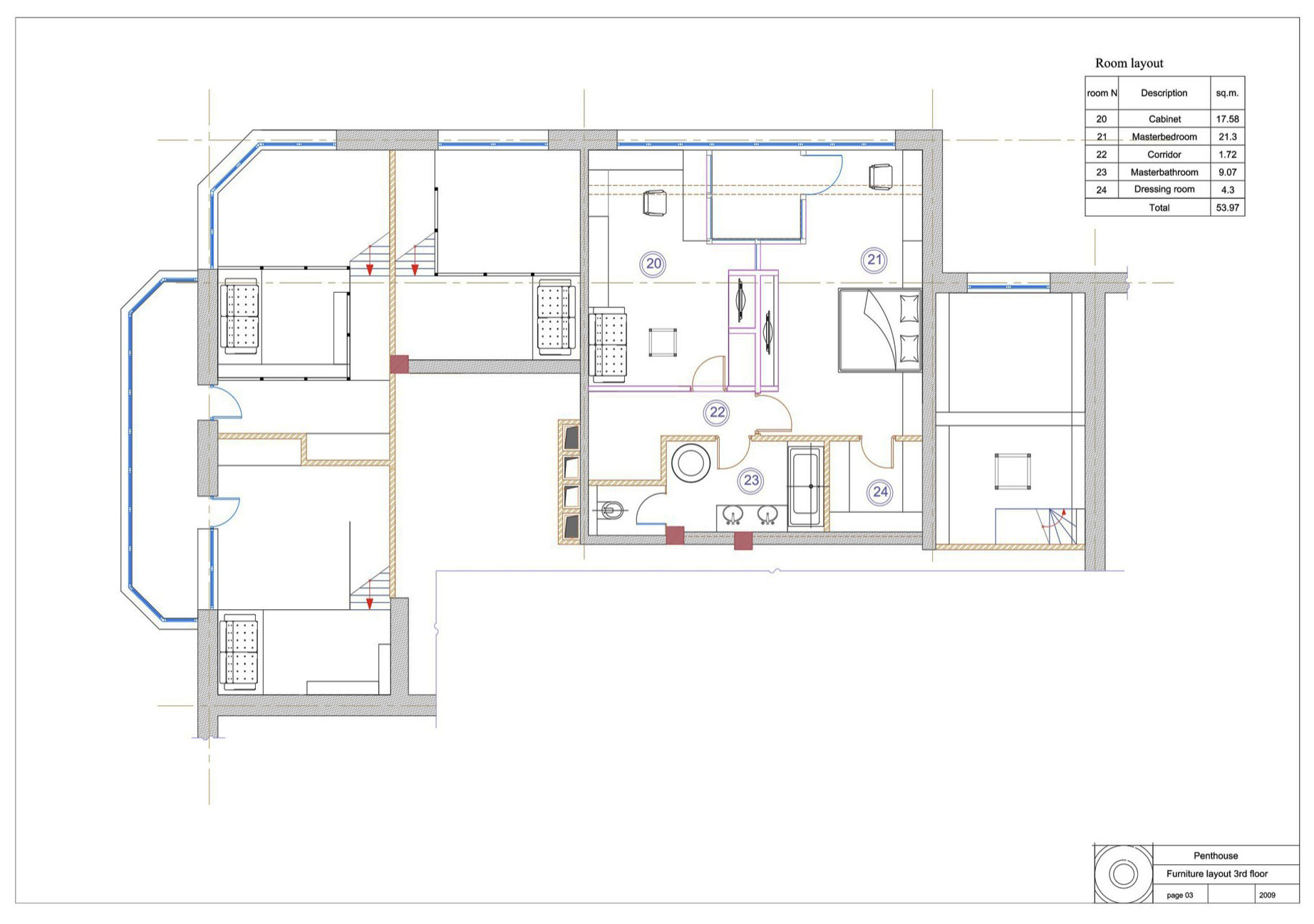 Multi-Level Apartment by Peter Kostelov  (19)