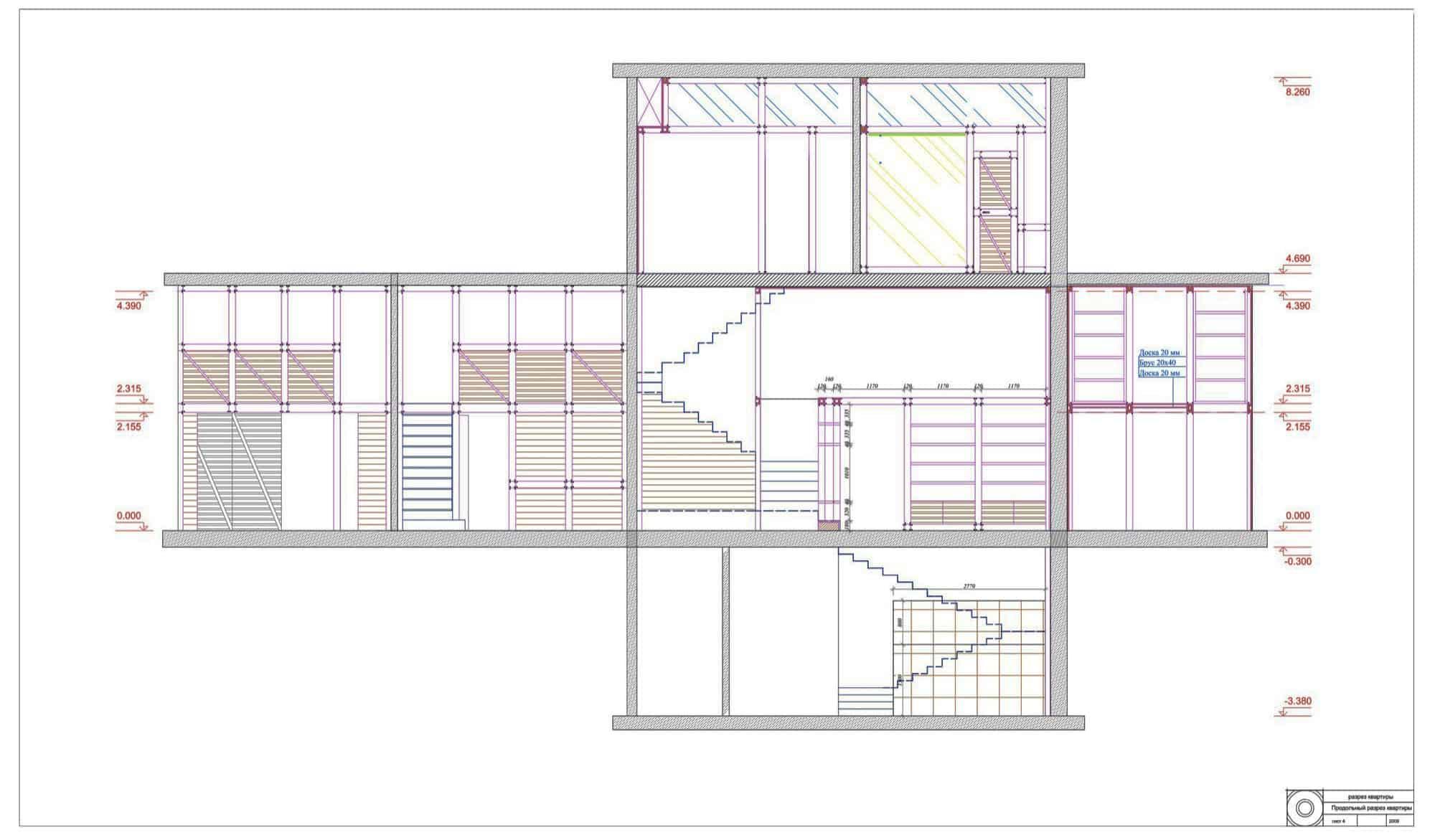 Multi-Level Apartment by Peter Kostelov  (21)
