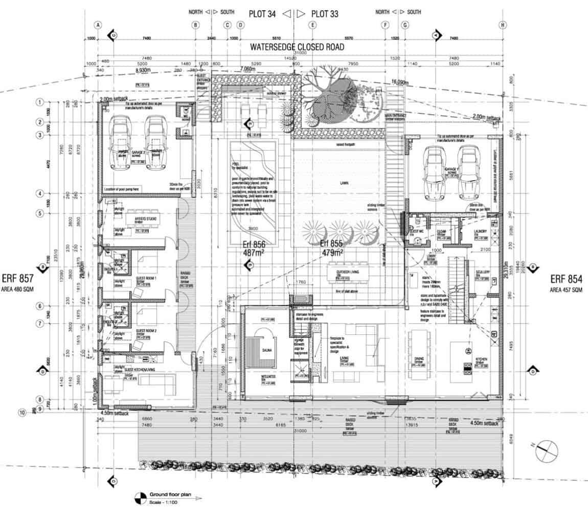 Big Bay Beach House: Big Bay Beach House By COA And Fuchs Wacker Architekten (15