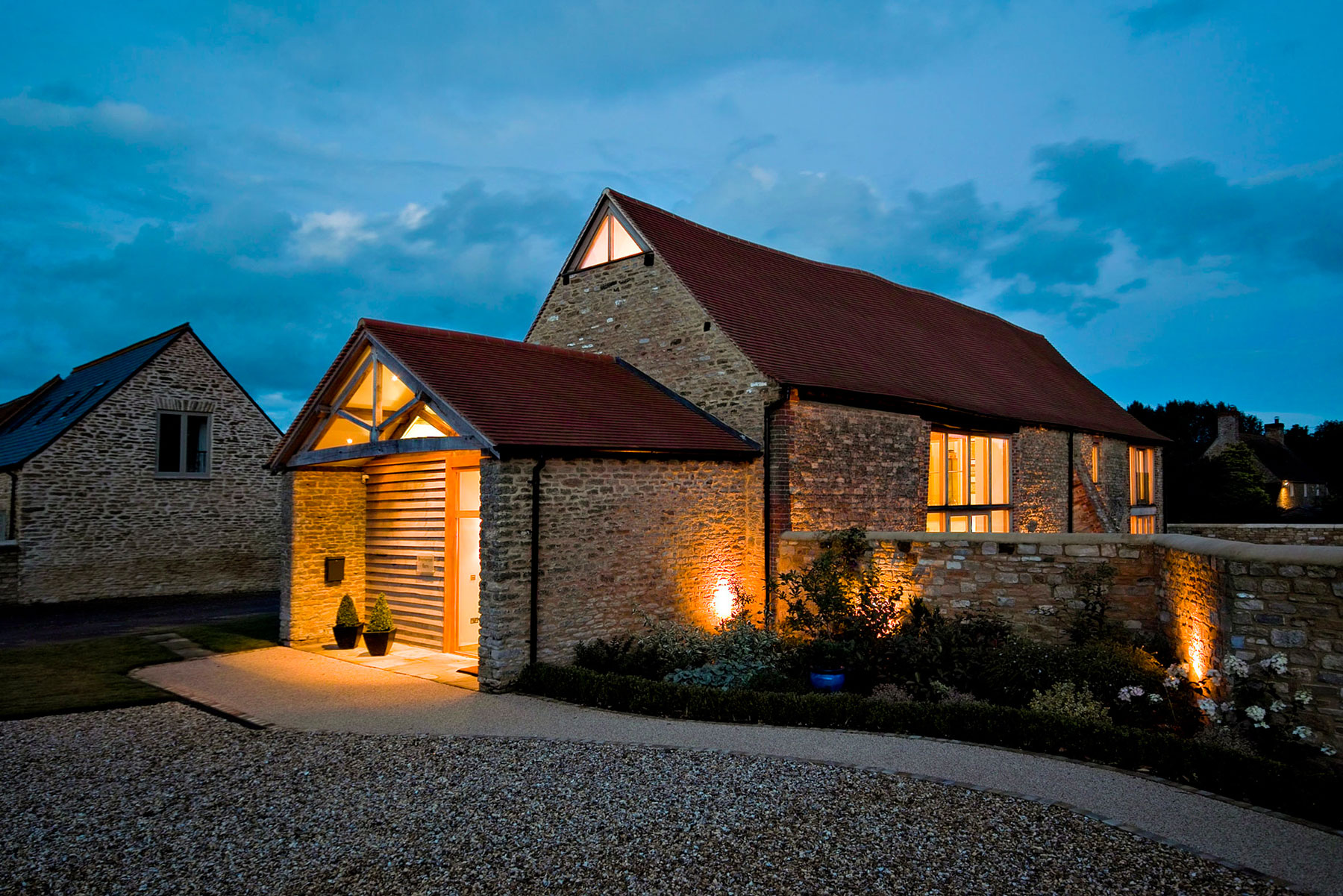 Brotherton Barn by The Anderson Orr Partnership