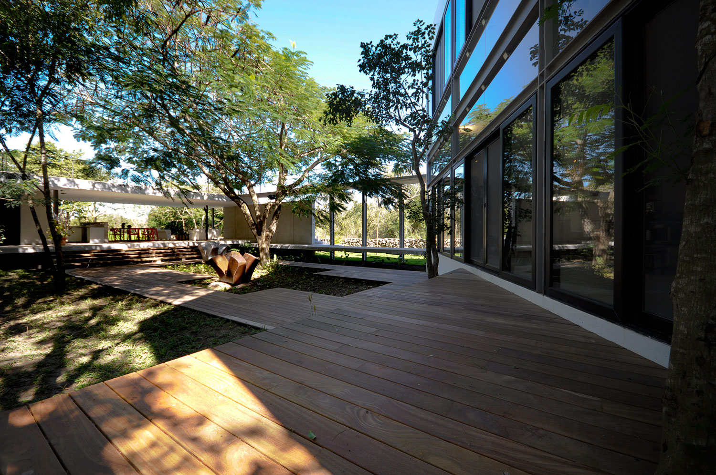 House Among Trees by Munoz Arquitectos Asociados (2)