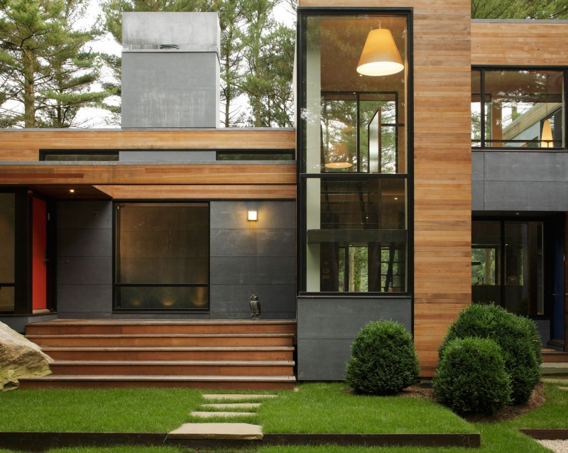 Beautiful Simple Modern House Exterior Photos   Liltigertoo.com .
