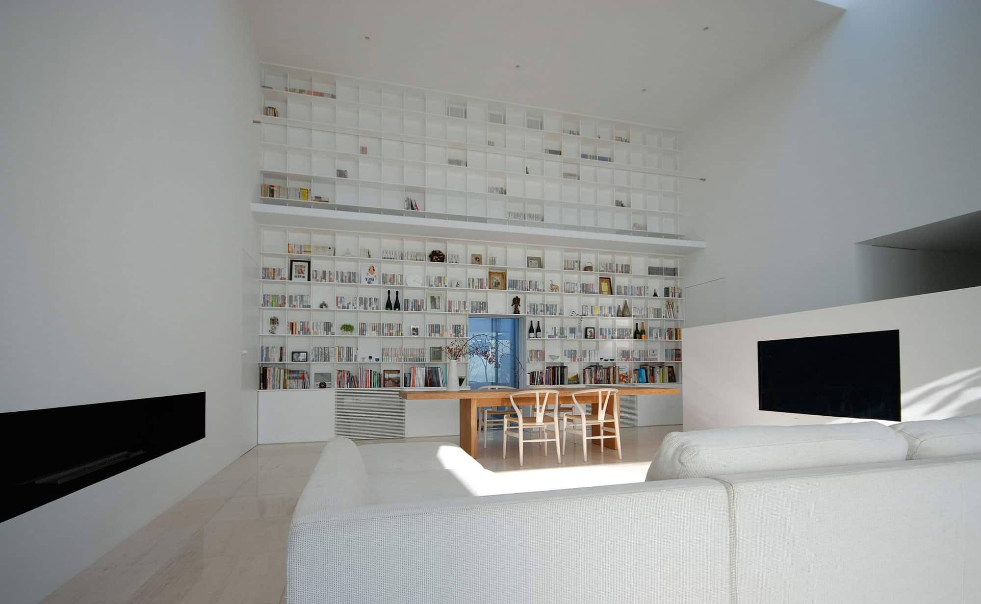 Library House by Shinichi Ogawa & Associates