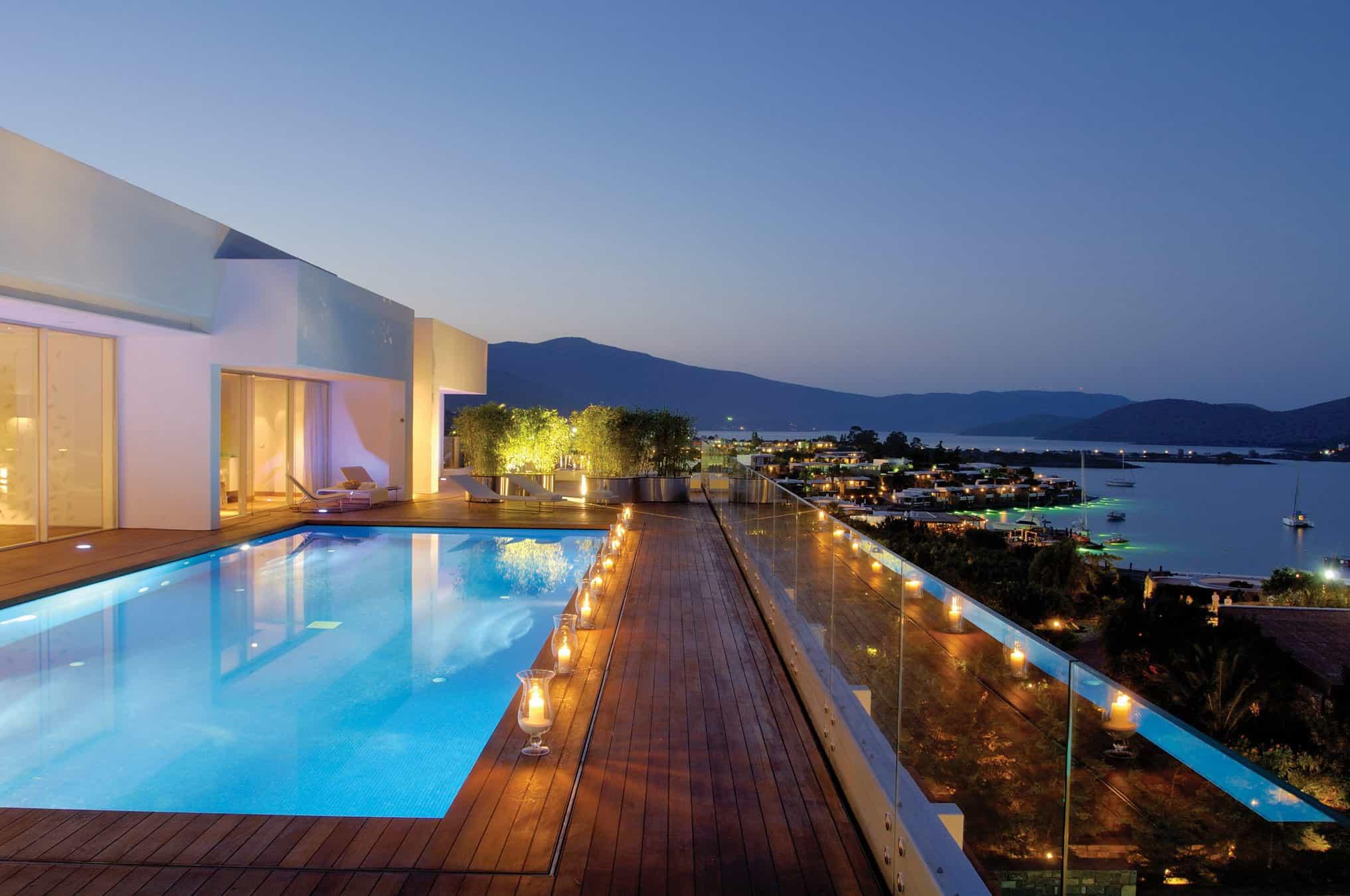 Yachting Club Villas at Elounda Beach by Davide Macullo Architects
