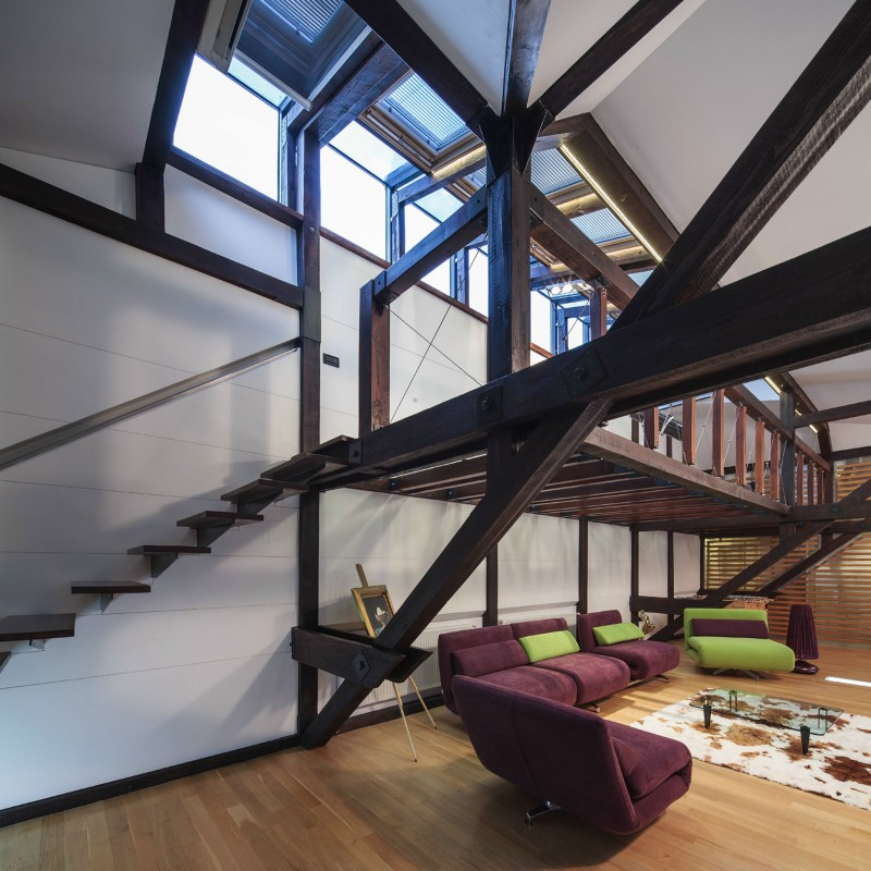 Church Lofts Of Fishtown Apartments Philadelphia Pa: A Renovated Loft In Bucharest By TECON
