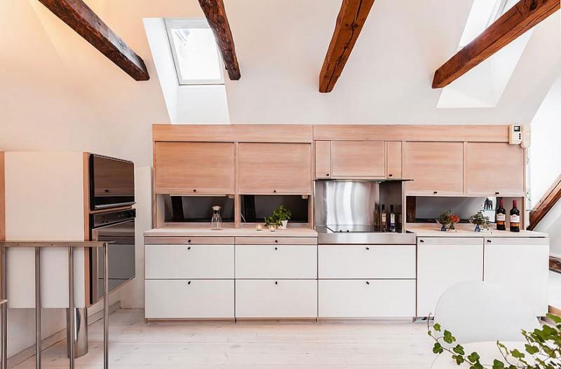 Small Attic Kitchen Designs