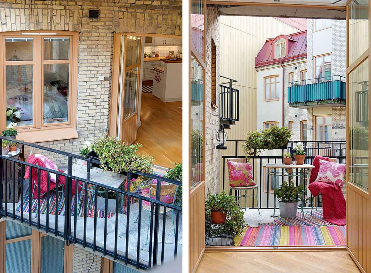 Colorful Apartment in Gothenburg (3)