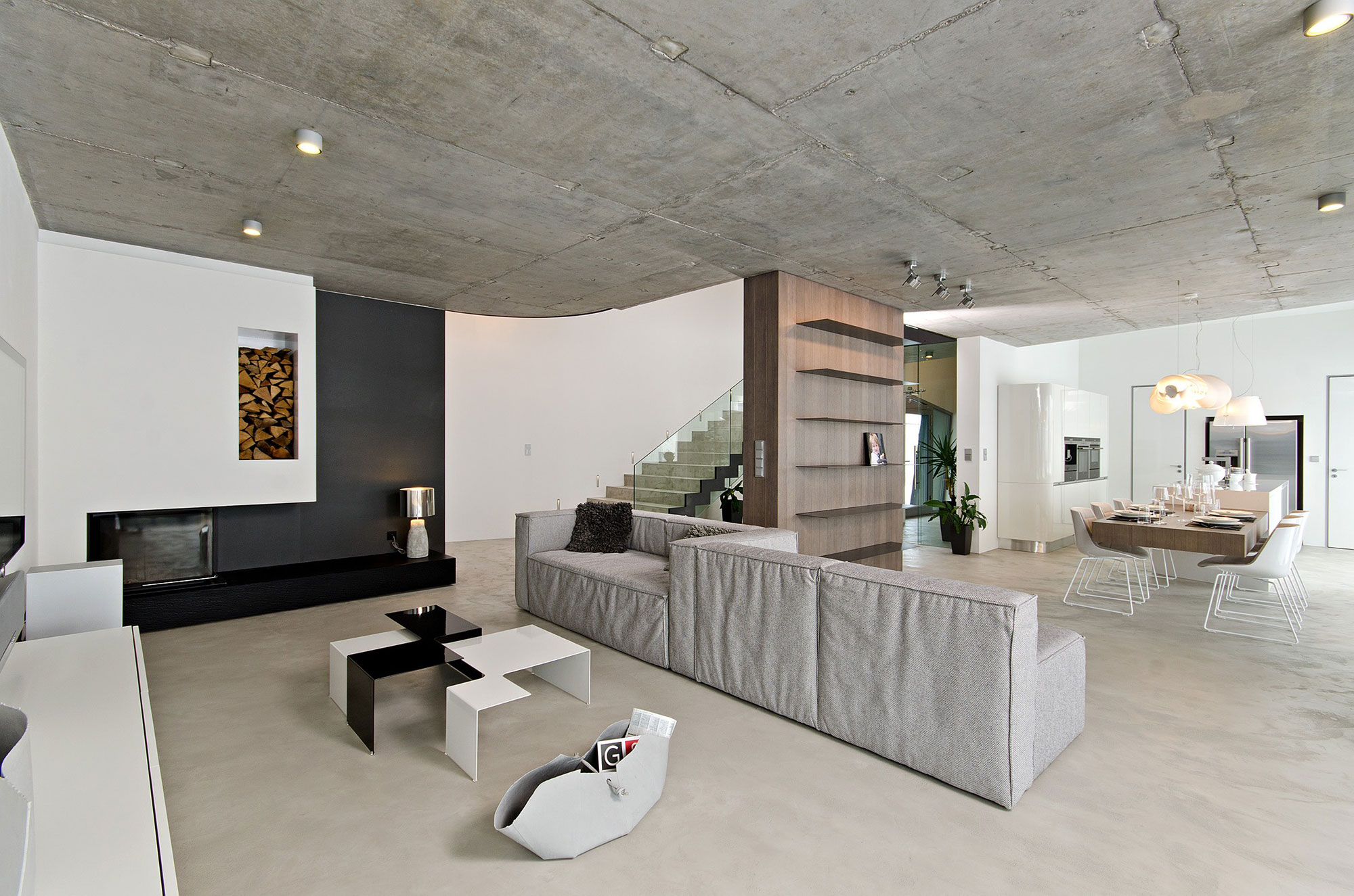 Concrete Interior by oooox (1)