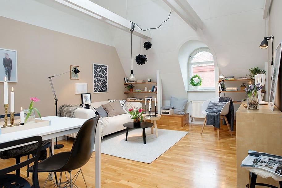 Scandinavian Design: Stylish Apartment in Gothenburg