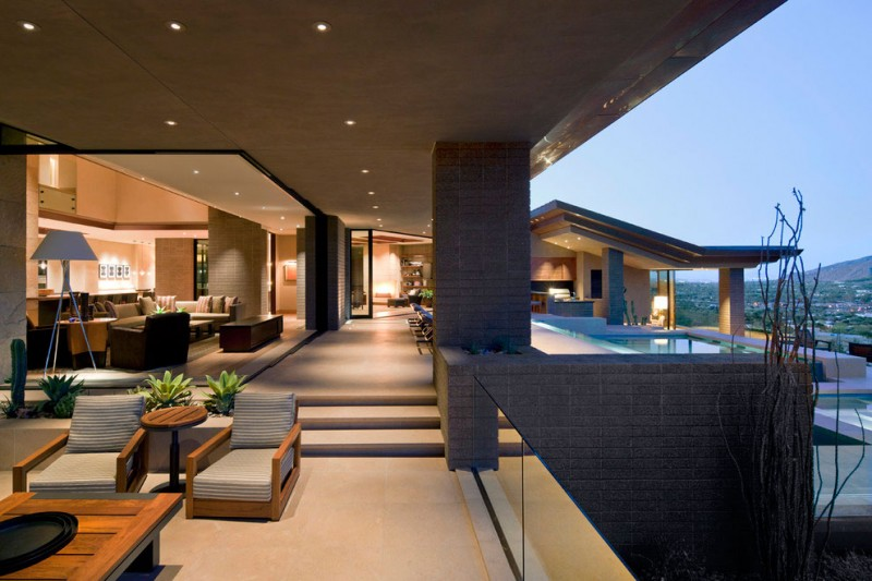 Charmant Home In Paradise Valley By Swaback Partners And David Michael Miller  Associates