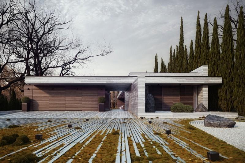 horizontal house by 81wawpl - Hinterhoflandschaften Designs