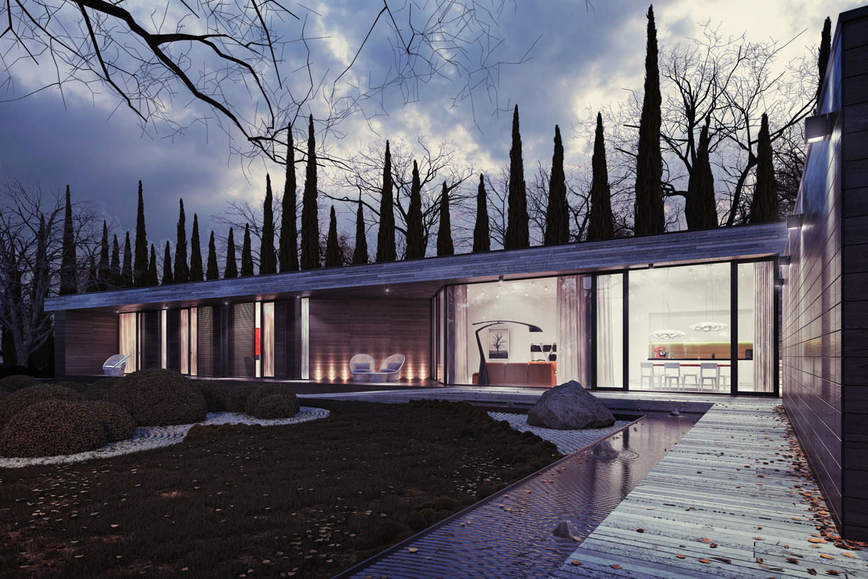 Horizontal House by 81.WAW.PL
