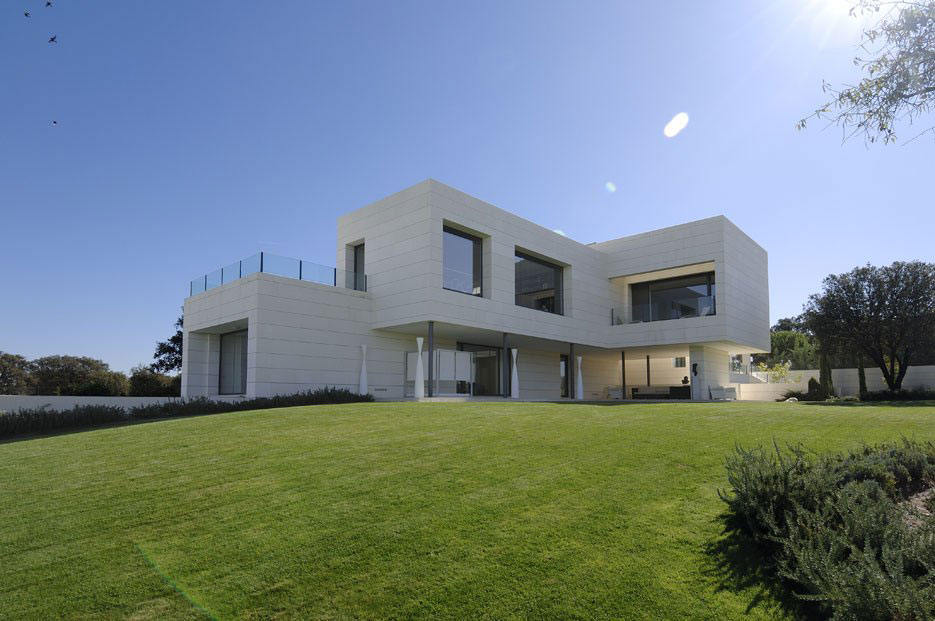 House in Madrid by A-cero (1)
