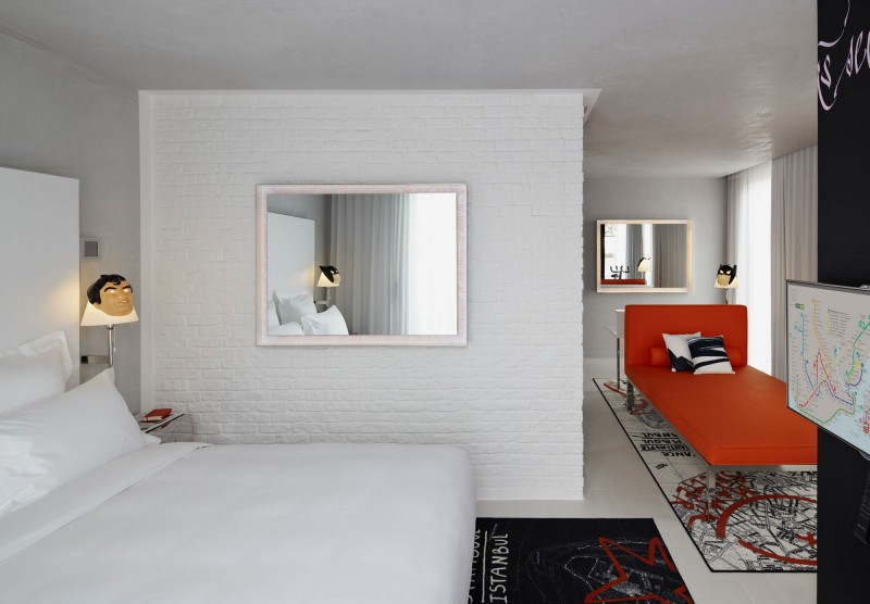 Mama shelter istanbul by philippe starck for Decor hotel istanbul