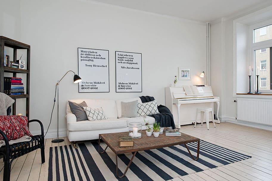 Scandinavian Design: Turn of the Century Property in Gothenburg