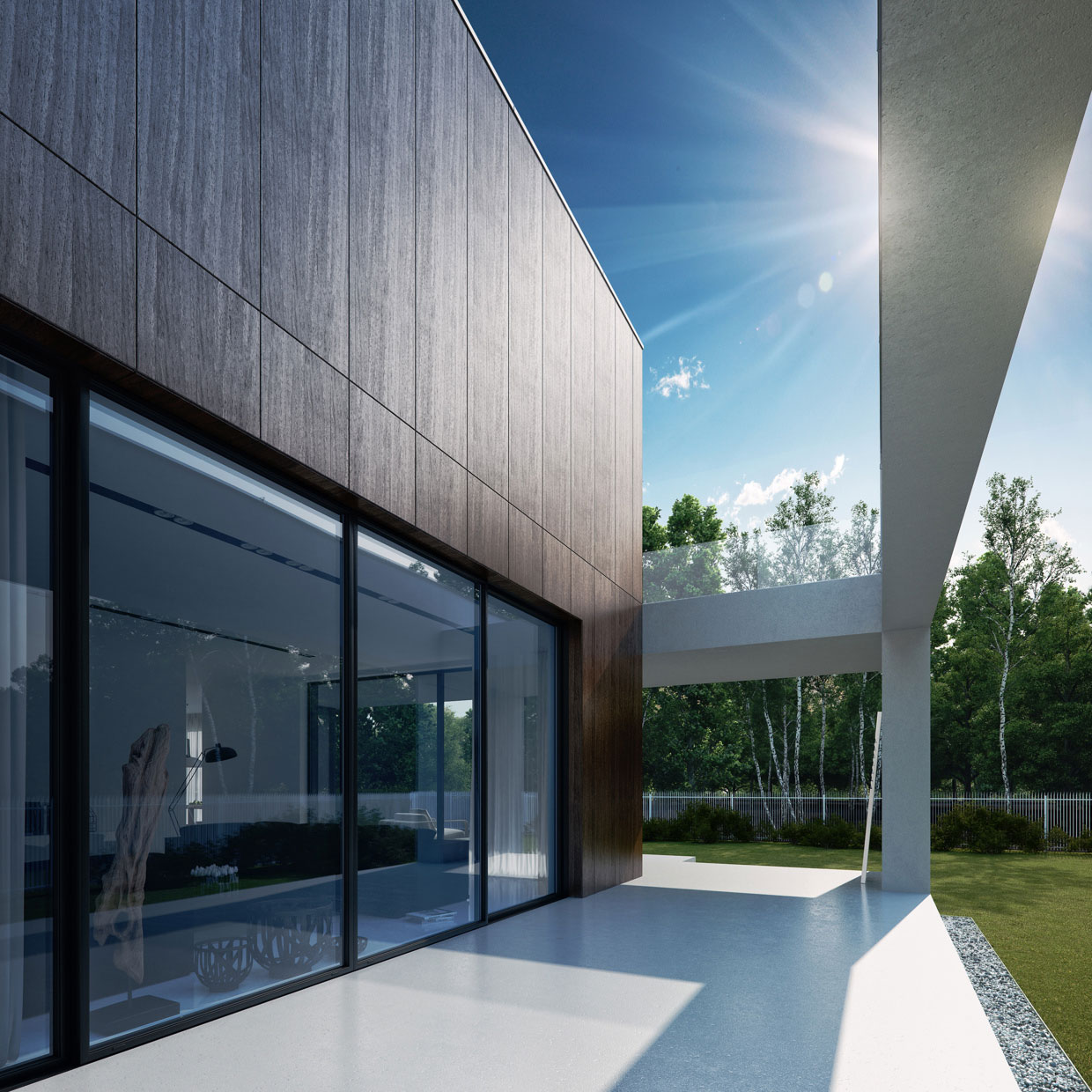 Wooden Cube House by 81.WAW.PL (5)
