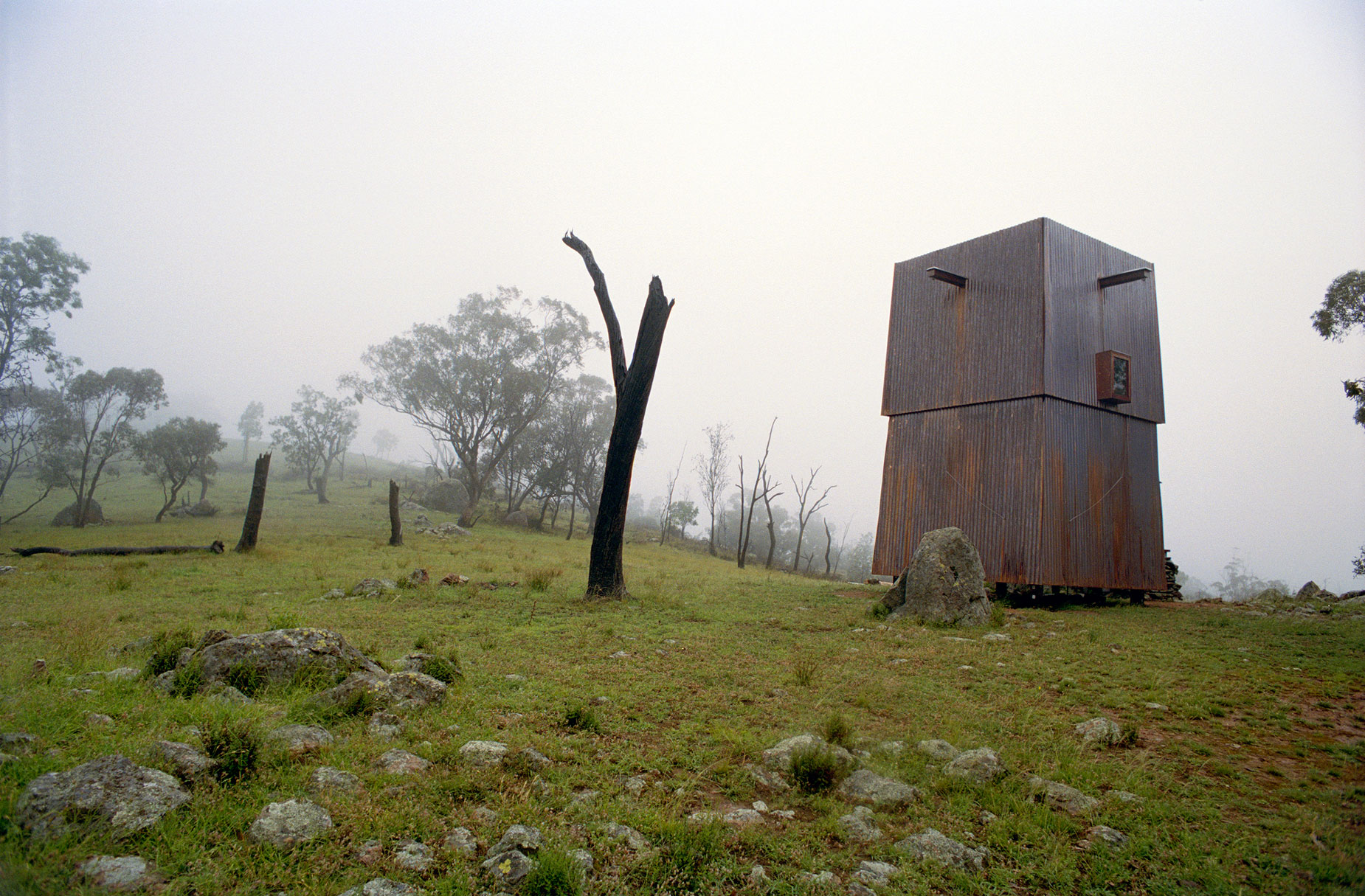 Permanent Camping Structure by Casey Brown Architecture (1)