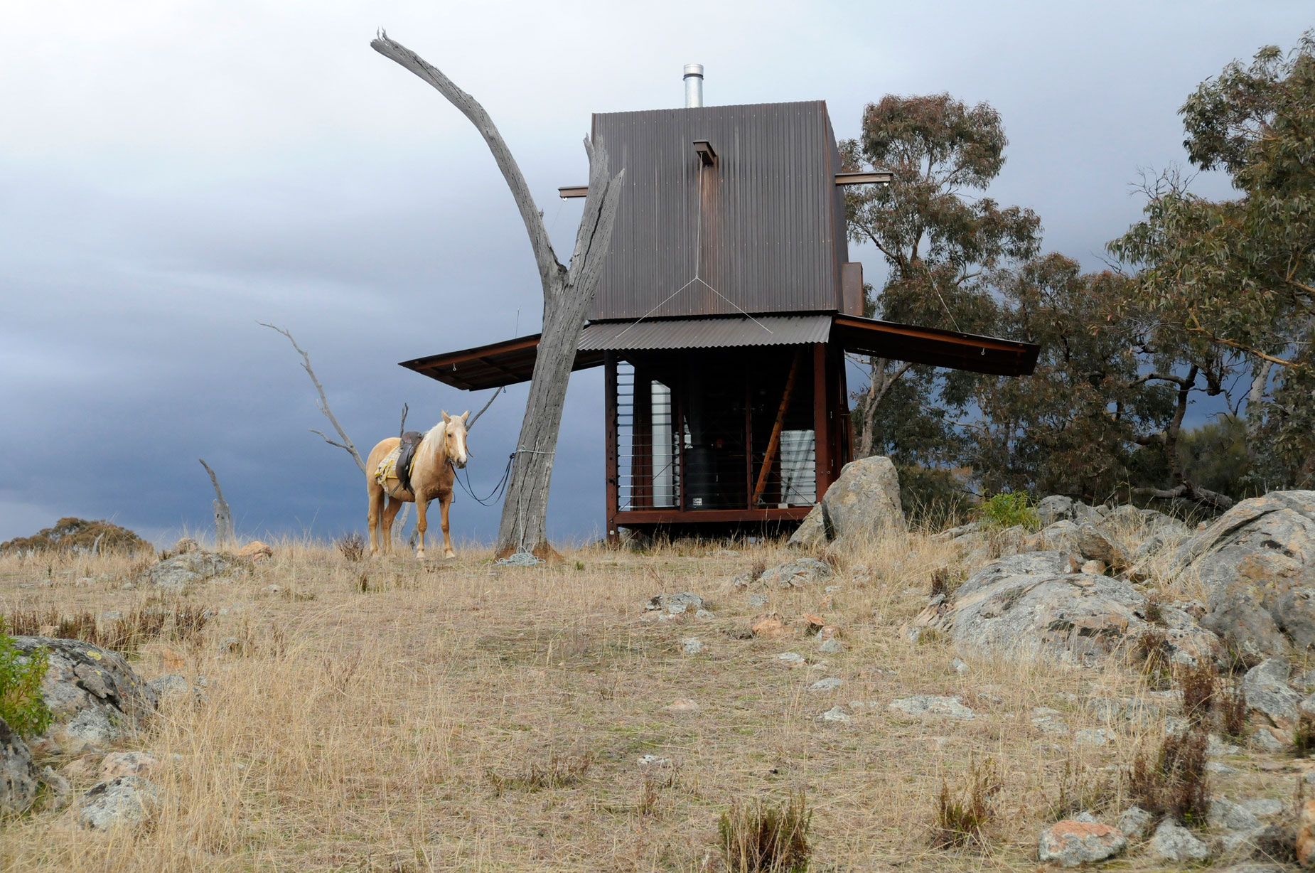 Permanent Camping Structure by Casey Brown Architecture (2)